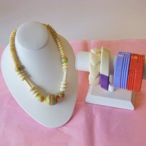 Vintage Costume Lucite Plastic Jewelry